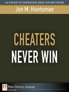 Ebook in inglese Cheaters Never Win Huntsman, Jon