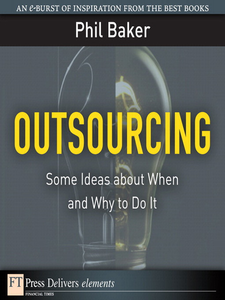 Ebook in inglese Outsourcing Baker, Phil