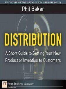 Foto Cover di Distribution, Ebook inglese di Phil Baker, edito da Pearson Education