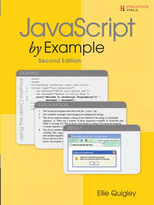 Ebook in inglese JavaScript by Example Quigley, Ellie