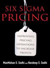 Six Sigma Pricing