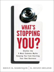 Ebook in inglese What's Stopping You? Barringer, Bruce , Ireland, R. Duane