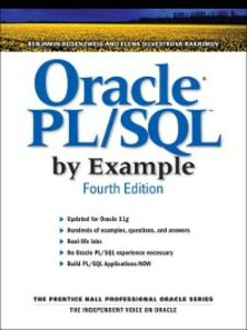 Ebook in inglese Oracle® PL/SQL™ by Example Rakhimov, Elena , Rosenzweig, Benjamin