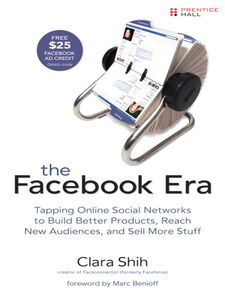 Ebook in inglese The Facebook Era Shih, Clara