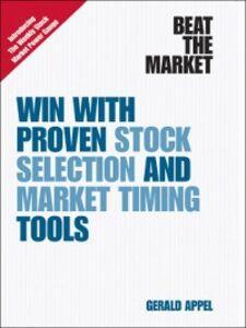 Foto Cover di Beat the Market, Ebook inglese di Gerald Appel, edito da Pearson Education