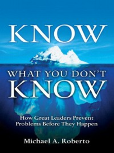 Ebook in inglese Know What You Don't Know Roberto, Michael A.