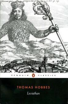 Leviathan - Thomas Hobbes - cover