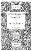Libro in inglese On Friendship Michel Eyquem de Montaigne