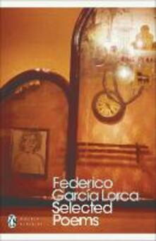 Selected Poems - Federico Garcia Lorca - cover