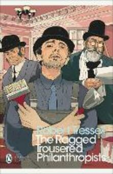 The Ragged Trousered Philanthropists - Robert Tressell - cover