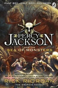 Ebook in inglese Percy Jackson and the Sea of Monsters: The Graphic Novel (Book 2) Riordan, Rick