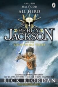 Ebook in inglese Percy Jackson and the Lightning Thief: The Graphic Novel (Book 1) Riordan, Rick