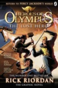 Ebook in inglese Lost Hero: The Graphic Novel (Heroes of Olympus Book 1) Riordan, Rick
