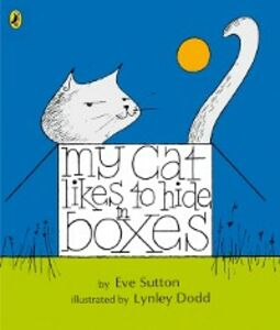 Ebook in inglese My Cat Likes to Hide in Boxes Sutton, Eve