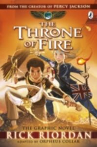 Ebook in inglese Throne of Fire: The Graphic Novel (The Kane Chronicles Book 2) Riordan, Rick