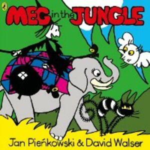 Ebook in inglese Meg in the Jungle Walser, David