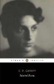 Selected Poems of Cavafy