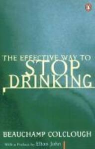 Effective Way to Stop Drinking