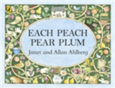 Ebook in inglese Each Peach Pear Plum Ahlberg, Allan , Ahlberg, Janet