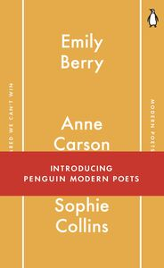 Ebook in inglese Penguin Modern Poets 1 Berry, Emily , Carson, Anne , Collins, Sophie