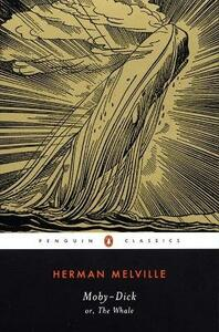 Moby-Dick: or, The Whale - Herman Melville - cover
