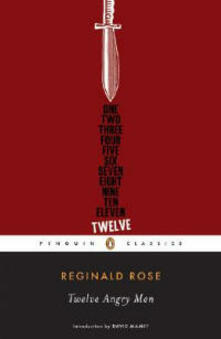 Twelve Angry Men - Reginald Rose - cover