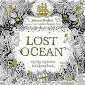 Libro in inglese Lost Ocean: An Inky Adventure and Coloring Book for Adults Johanna Basford