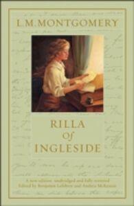 Ebook in inglese Rilla Of Ingleside Lefebvre, Benjamin , Montgomery, L M