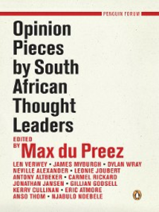 Ebook in inglese Opinion Pieces by South African Thought Leaders Preez, Max du