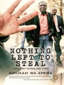 Ebook in inglese Nothing Left to Steal Afrika, Mzilikazi wa