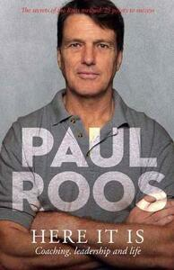 Here it is - Paul Roos - cover