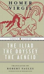 Iliad, Odyssey, and Aeneid Box Set: (penguin Classics Deluxe Edition) - Homer - cover