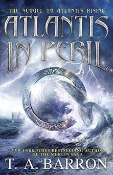 Atlantis in Peril - T A Barron - cover