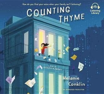 Counting Thyme - Melanie Conklin - cover