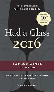 Had A Glass 2016 - James Nevison - cover