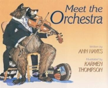 Meet the Orchestra - Ann Hayes - cover