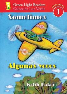 Sometimes/algunas Veces - Keith Baker - cover
