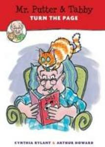 Mr. Putter and Tabby Turn the Page - Cynthia Rylant - cover