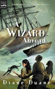 A Wizard Abroad - Diane Duane - cover