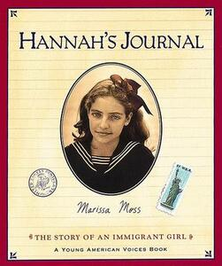 Hannah's Journal - Marissa Moss - cover