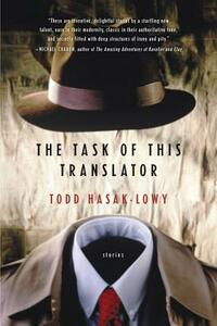 The Task of This Translator - Todd Hasak-Lowy - cover