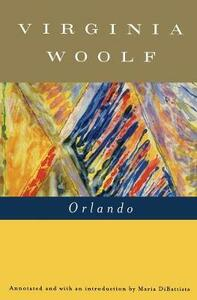 Orlando: A Biography - Virginia Woolf - cover