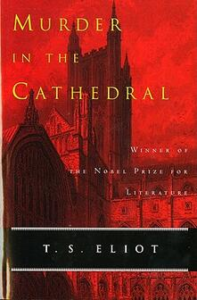 Murder in the Cathedral - T S Eliot - cover