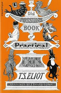 Old Possum's Book of Practical Cats - T. S. Eliot - cover