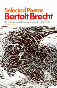Selected Poems - Bertolt Brecht - cover