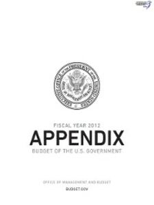 Ebook in inglese Appendix, Budget of the United States Government, Fiscal Year 2012 Office of Management and Budget