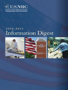 Ebook in inglese United States Nuclear Regulatory Commission Information Digest 2010-2011 -, -