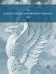 Ebook in inglese United States Government Manual 2011 Register, Office of the Federal