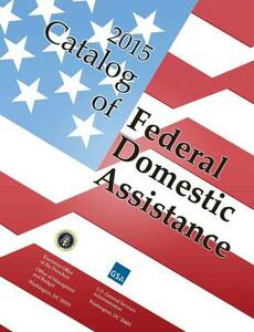 Catalog of Federal Domestic Assistance - cover