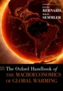 Foto Cover di Oxford Handbook of the Macroeconomics of Global Warming, Ebook inglese di  edito da Oxford University Press